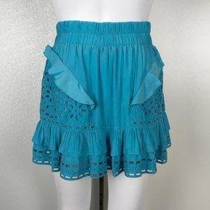 Ramy Brook Women MiniSkirt Blue Size S V46